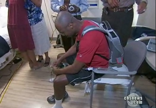 Man With Fully Artificial Heart Gains New Mobility With Smallest-Ever Portable Power Pack