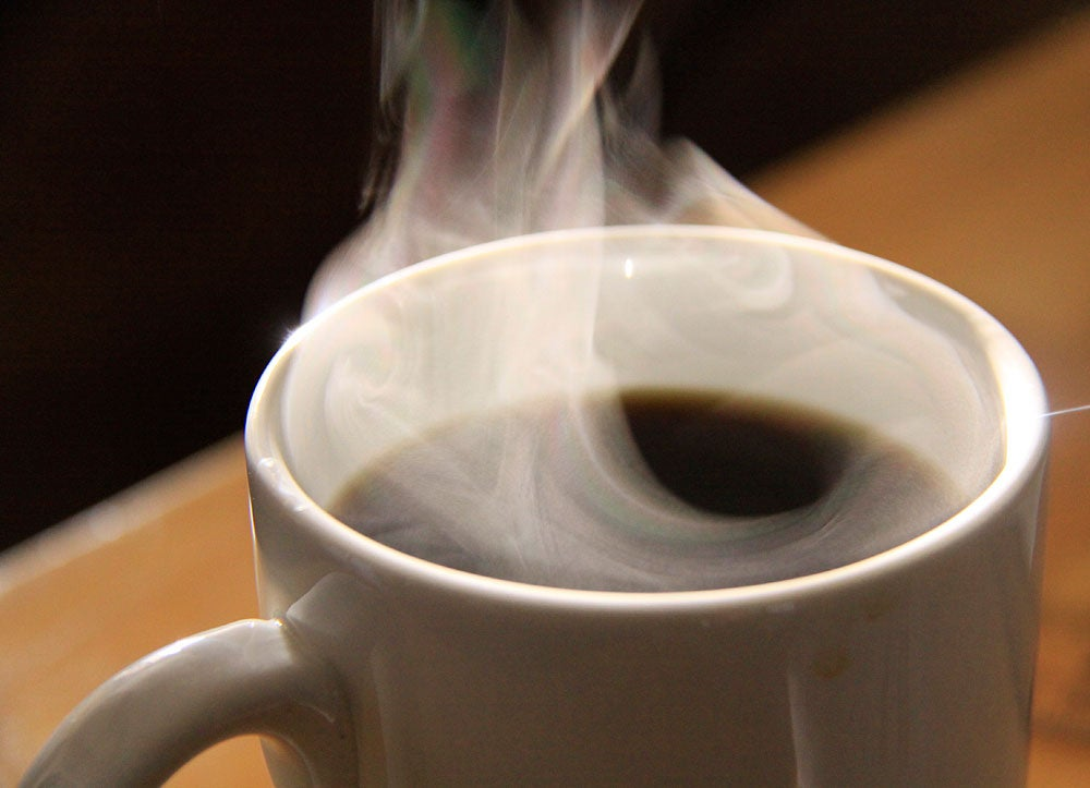 Used Coffee Grounds Can Store Methane