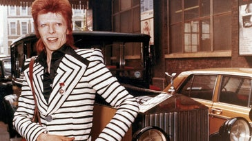 David Bowie in a 1973 photo