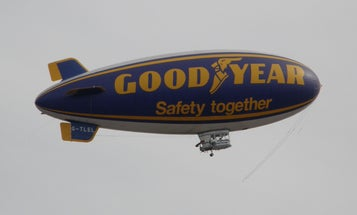 Goodyear To Replace Its Blimps With Zeppelins