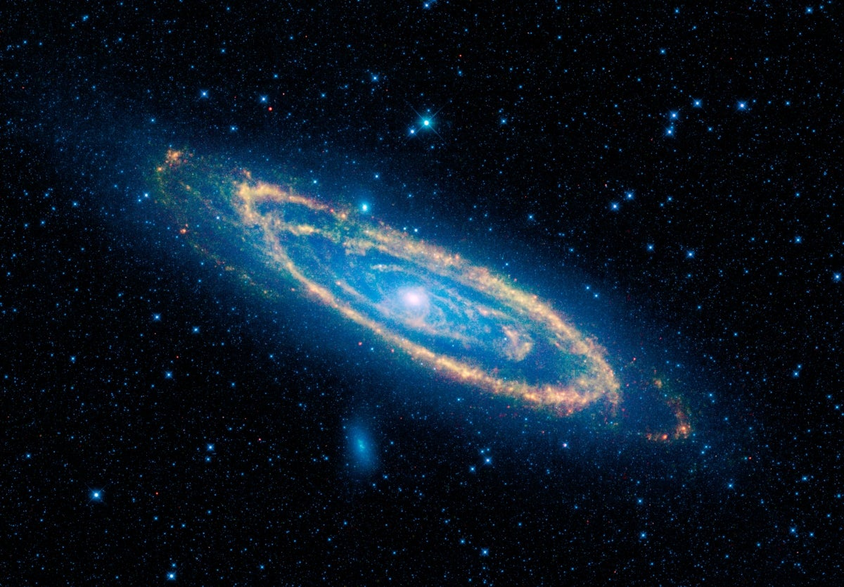 NASA's WISE Space Telescope Captures Beauty Shot of Andromeda Galaxy