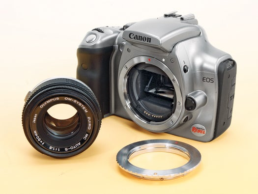 Cheap Tricks: Use a Vintage Lens To Get More From Your Digital SLR