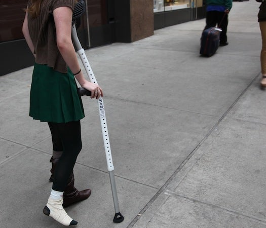Testing The Best: A Weekend With Mobilegs Crutches
