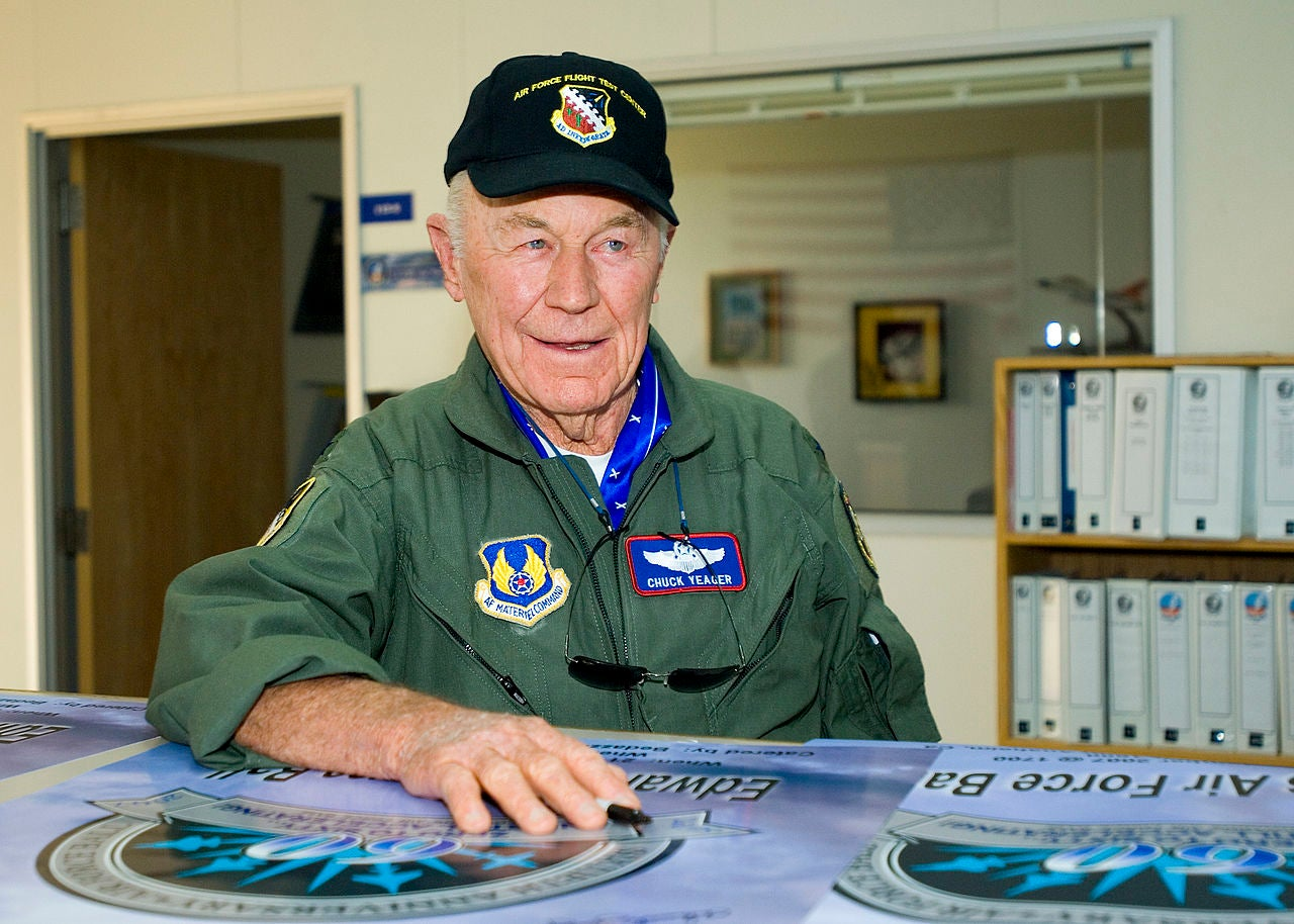 General Chuck Yeager Is An Ace On Twitter