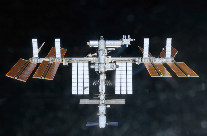 Video: Astronauts Bolt The Final American Module Onto The ISS, Completing a Dozen Years' Construction