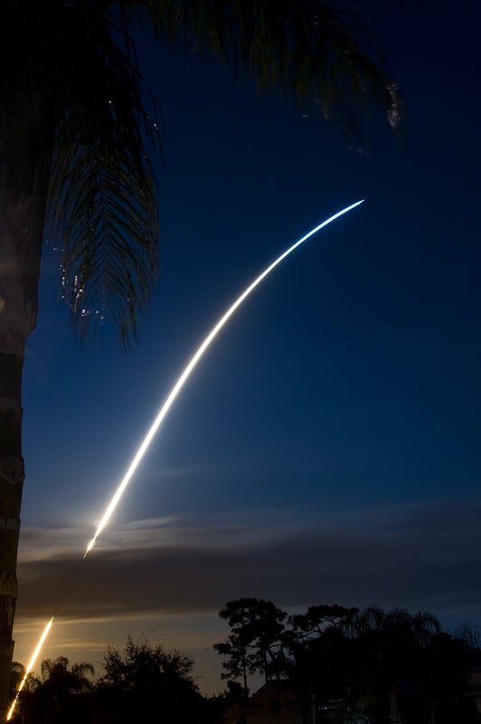 Endeavour Lifts Off in Space Shuttle's Final Night Launch