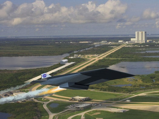 NASA's Next-Gen Spacelaunch System Could Launch Scramjets from a Massive Railgun