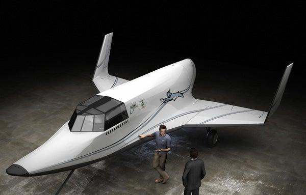 XCOR Unveils Suborbital Space Vehicle