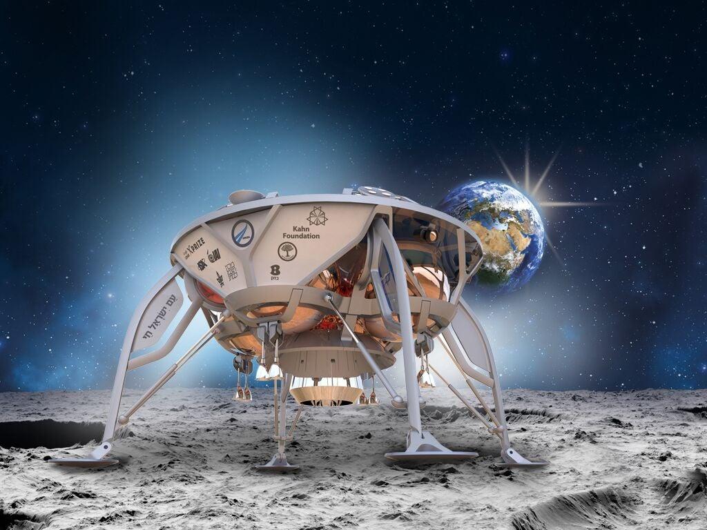 Space IL's lunar craft