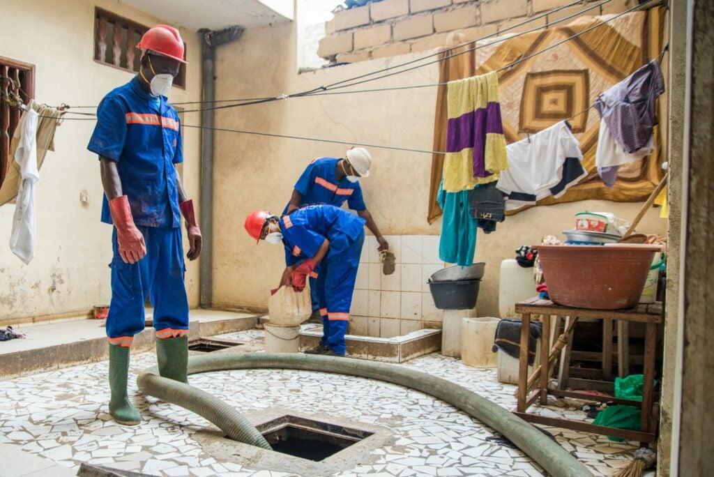 Human waste reservoir reinventing the toilet Gates Foundation