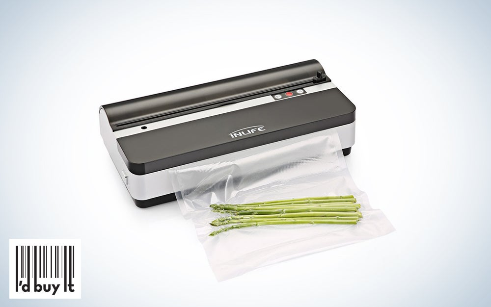 INLIFE K9 Automatic Food Saver with Cutter Vacuum Sealer Machine
