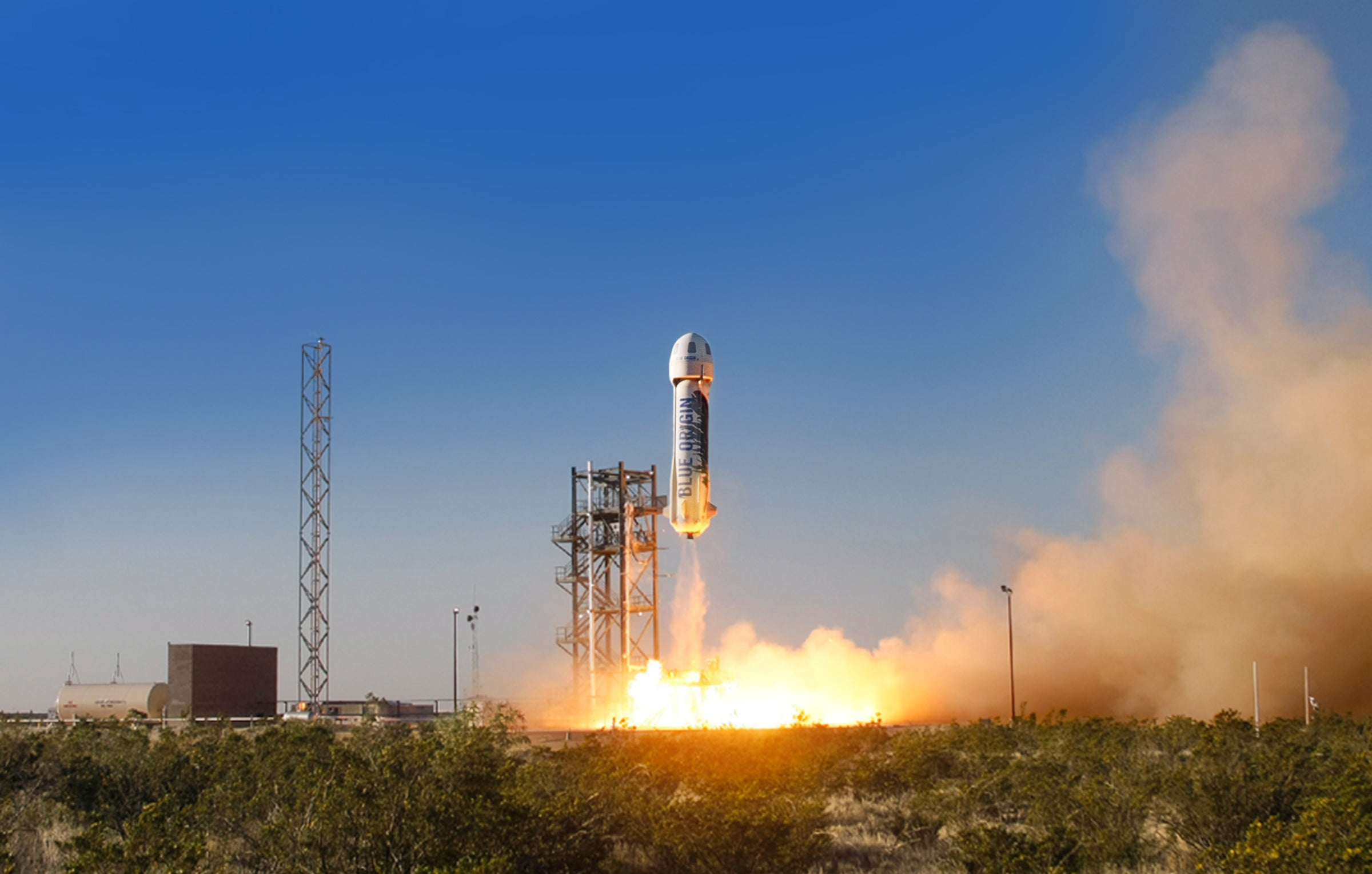 Blue Origin Could Send Tourists Into Space As Early As 2018