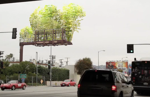 Let's Replace Annoying Billboards With Sky Forests of Bamboo