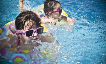 Swimming pools are full of poop, but they probably won't make you sick