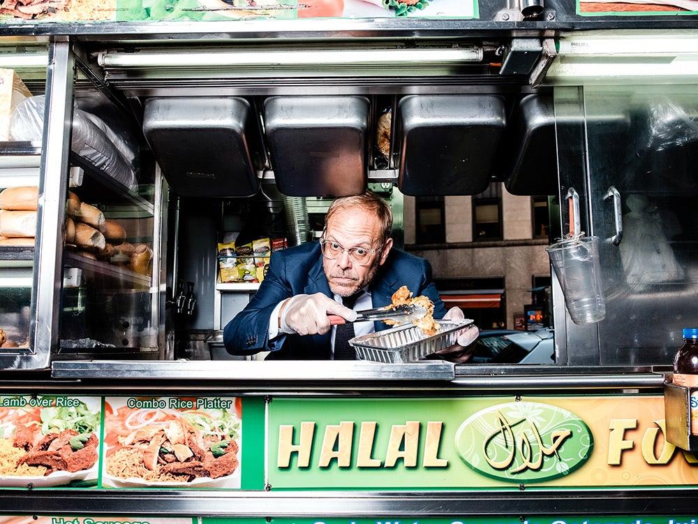 Alton Brown food truck