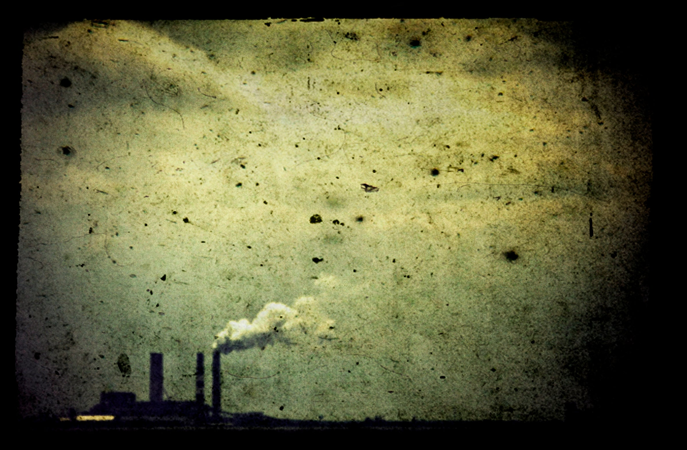 pollution off shore