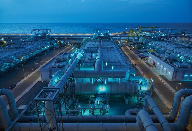 In photos: Dubai's massive desalination plant