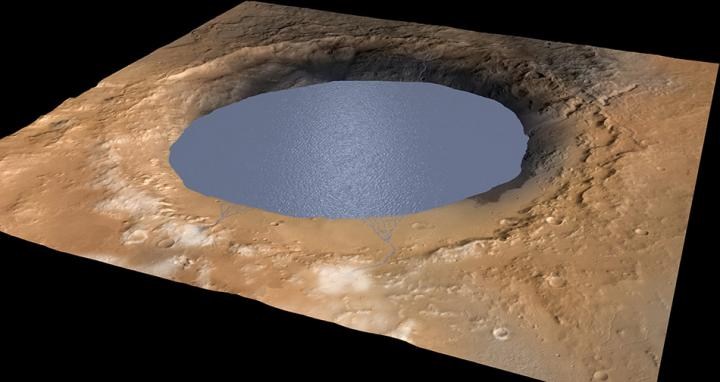 There Is Probably Liquid Water Right Underneath The Surface Of Mars