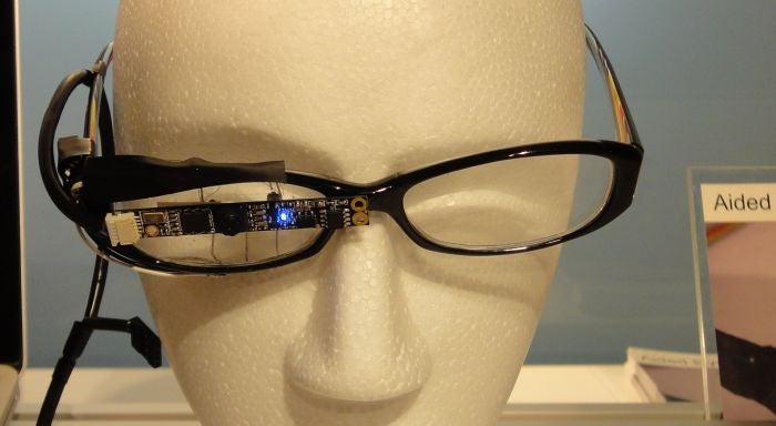Sony Glasses Track Eye Movement for Lightweight Wearable Lifelogging