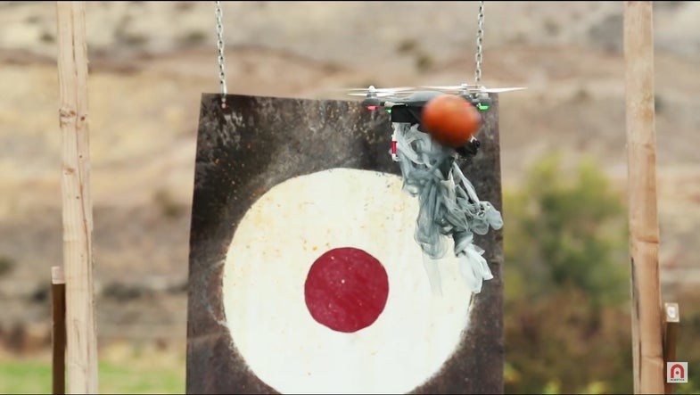 The Latest Anti-Drone Weapon Is A Pumpkin Cannon