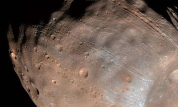Mars's Moon Phobos Is Falling Apart