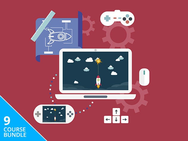 Start your career in game development with 83 hours of hands-on training