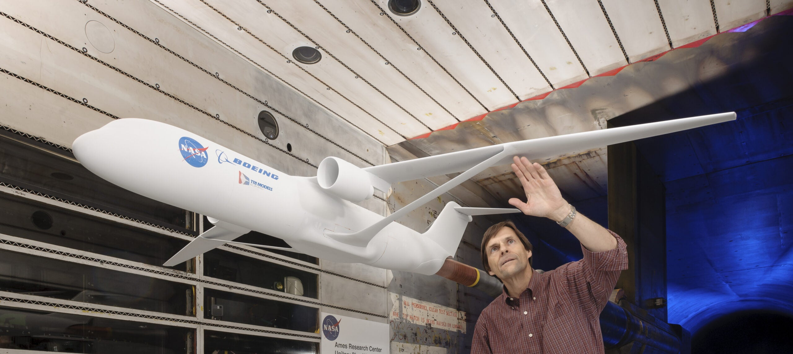 New Wing From NASA Could Save Fuel And The Planet