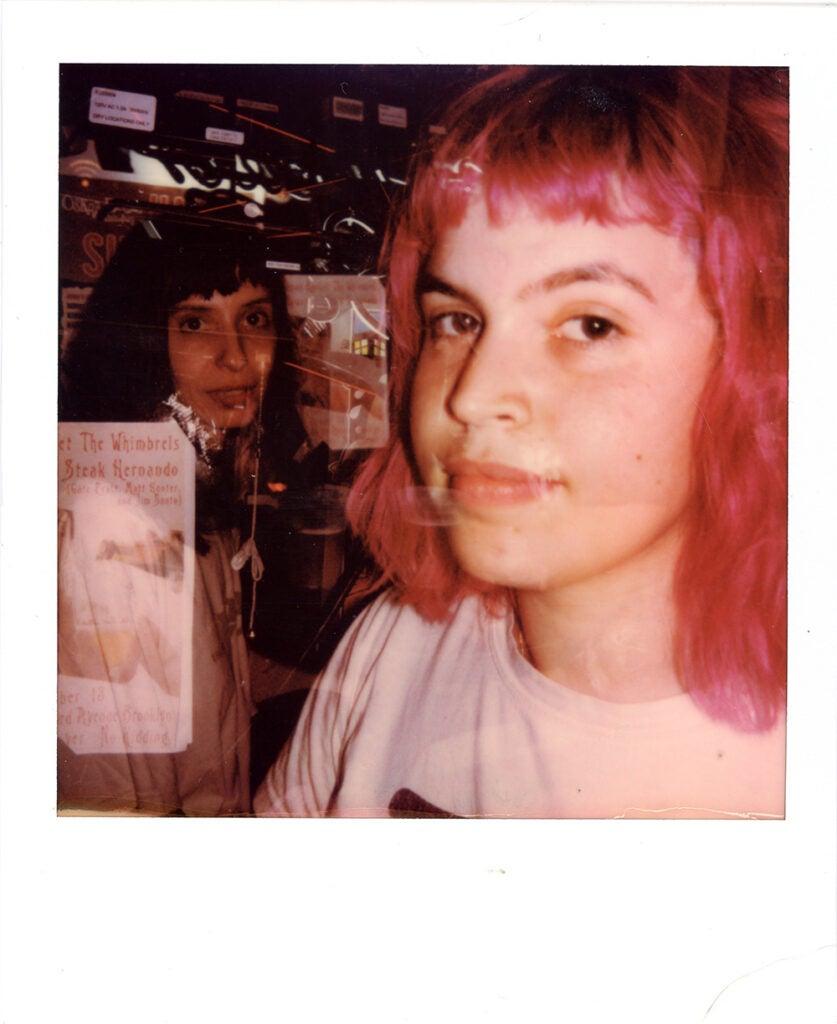 Polaroid Onestep+ sample ladies