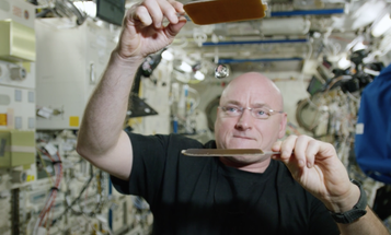 Watch An Astronaut Play Ping Pong With Water In Space