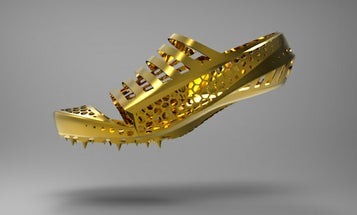 The Totally Custom, Absurdly Light 3-D Printed Shoe That Could Win Olympic Gold