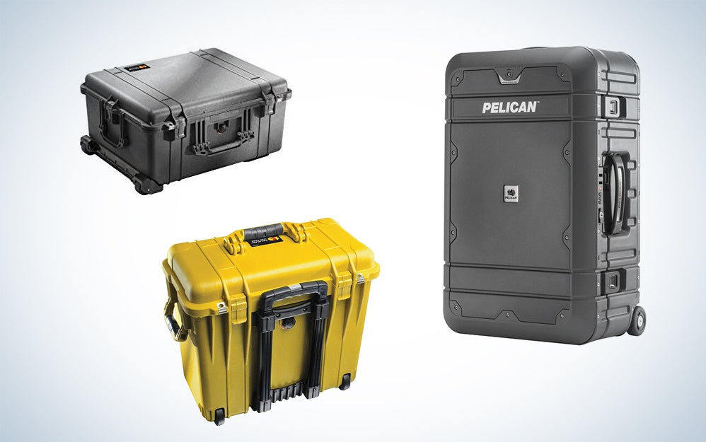 Pelican protective storage cases