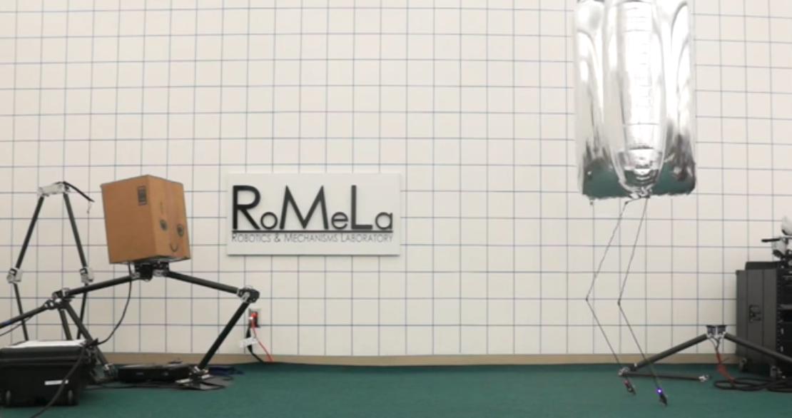 Balloon-Bodied Bipedal Bot Bounces Beautifully