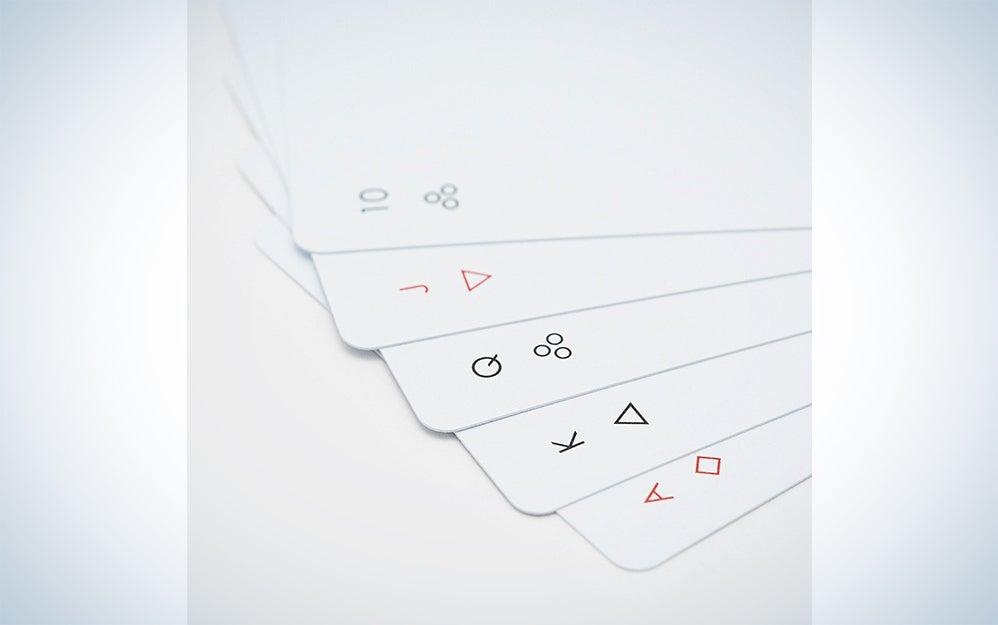 Minimal playing cards