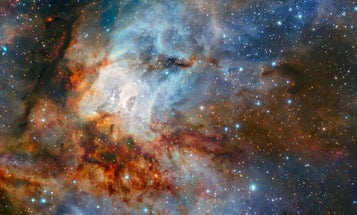 Capturing this incredible star cluster required lasers and a bendable mirror