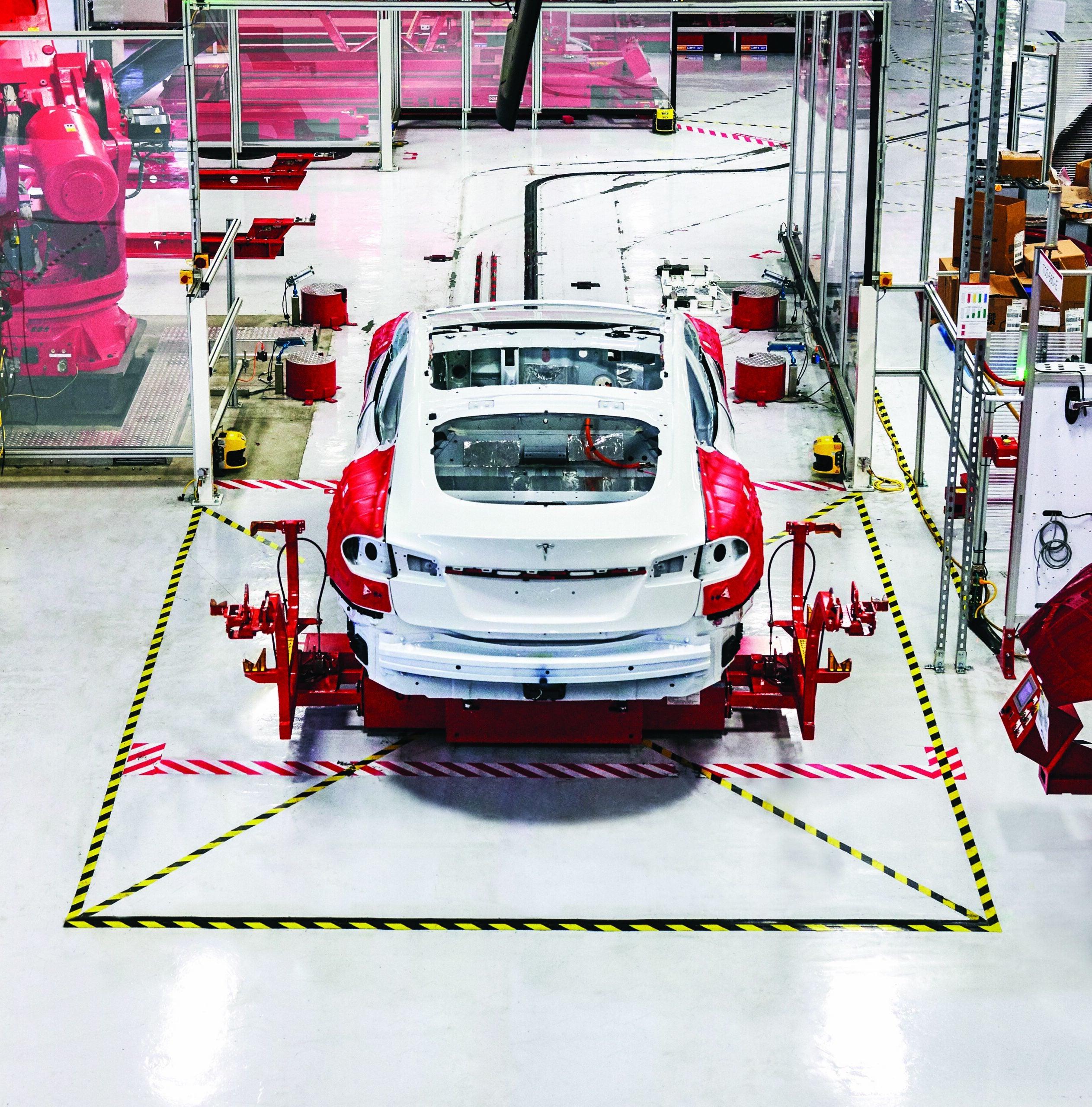 Inside The Tesla Factory