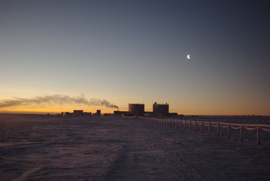 Big Pic: The Sun Rises In Antarctica After 3 Months Of Darkness