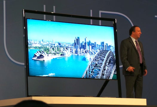 CES 2013: Look At This Weird TV