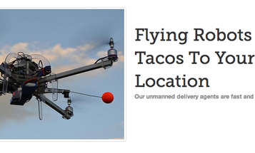 Bay Area Startup Wants to Deliver Tacos Via Unmanned Quadcopter (Maybe)