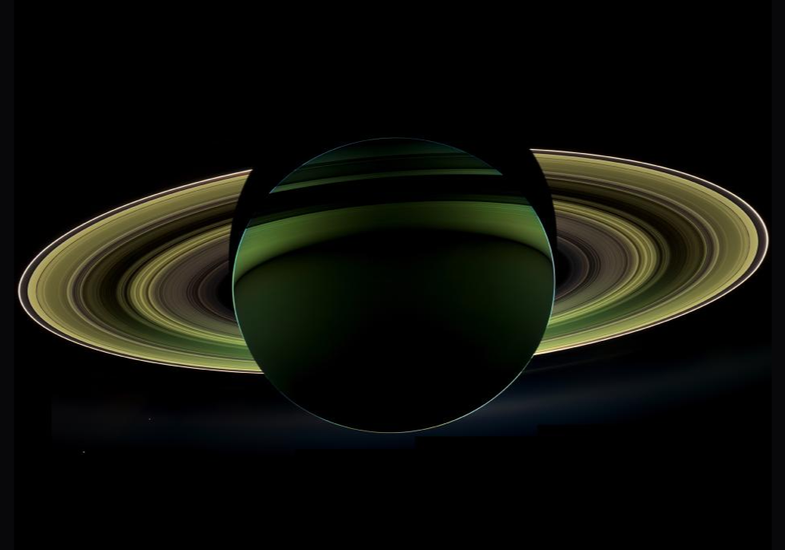 BigPic: A Rare And Spectacular View Of Saturn