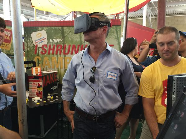 Virtual Reality Enters The 2016 Presidential Race