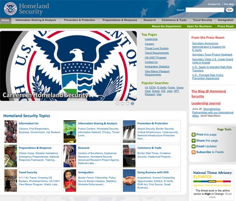 July 4th Hacker Attack Targeted Major U.S. Government Sites