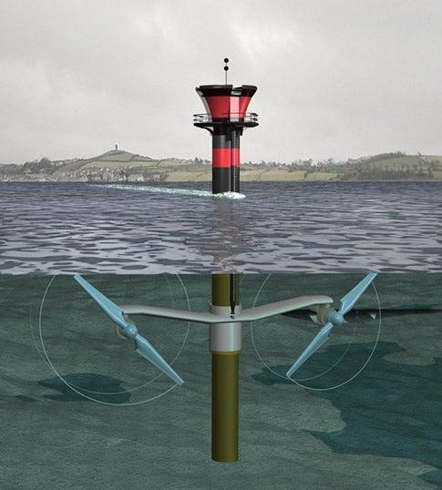 World's Largest Underwater Turbine Installed