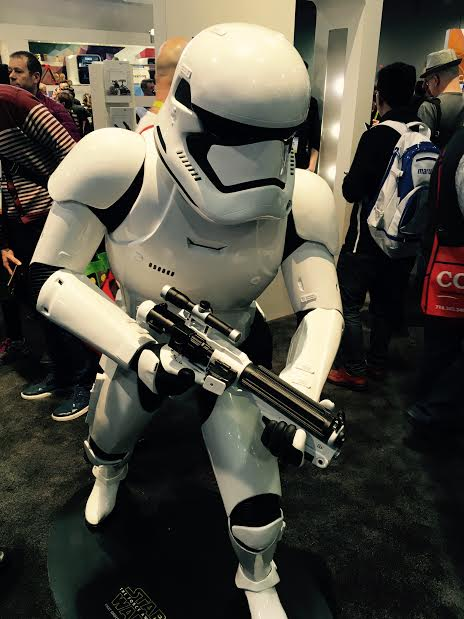 A 3D-Printed Stormtrooper Lands At CES 2016