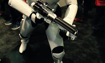 A 3D-Printed Stormtrooper Lands At CES 2016