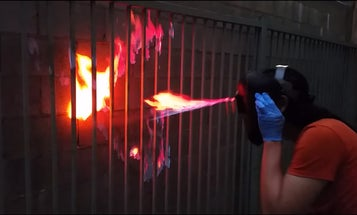 X-Men Inspired Mask Shoots Flames From Youtuber's Face
