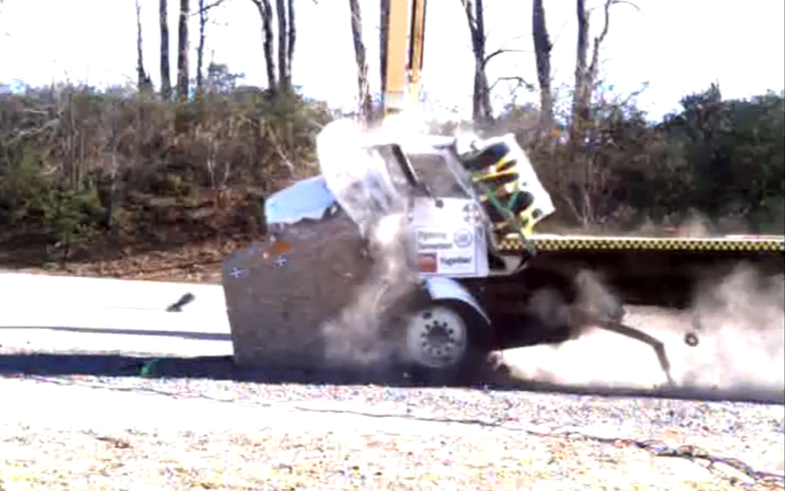 Can A Boulder Stop A Speeding Truck? A Forceful New Study Investigates