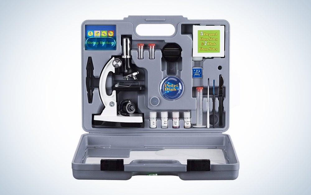 AmScope kids microscope kit