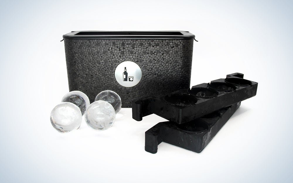Wintersmiths Ice Chest Crystal-Clear Ice Ball Maker
