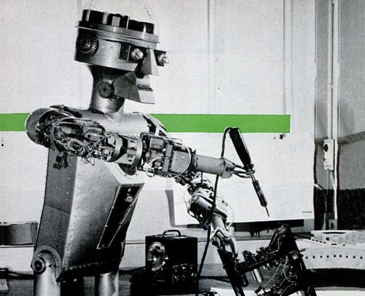 This Cold War Robot Was Built To Do The Tasks Too Dangerous For People