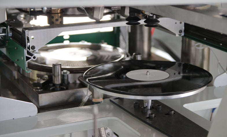 Viryl WarmTone Record Press